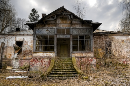 old haunted house in transylvania