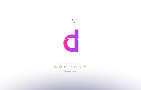 cl c l  pink purple modern creative gradient alphabet company logo design vector icon template