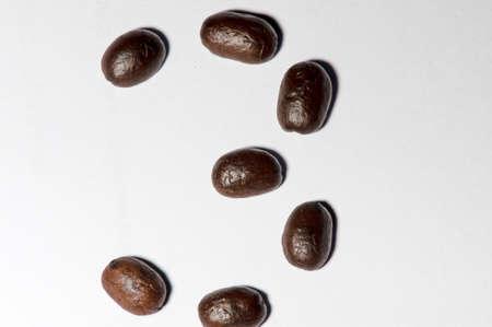 Coffee beans set is  symbols number three