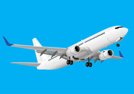 Ilustración de Detailed aircraft - Imagen libre de derechos