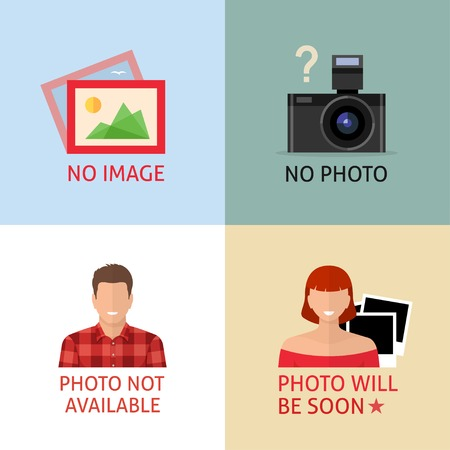 No image or photo creative signs. Internet web icon to indicate the absence of image until it will be downloaded.