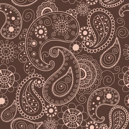 Illustration pour Ethnic ornamental lace vintage mandala abstract textile. - image libre de droit