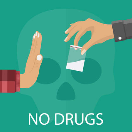 No drugs concept