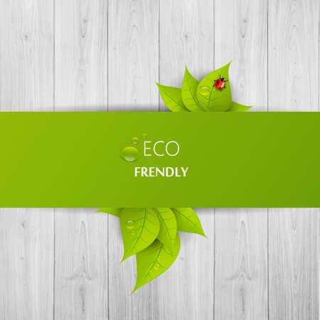 Green eco abstract design, Vector illustration eps 10