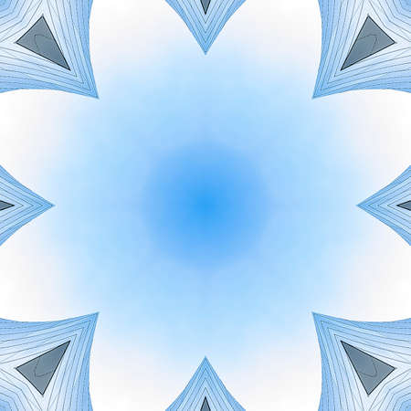 Square Copy space inside of angular metal fractal