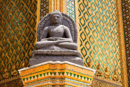 Wat Phra Kaew is a landmark of the Thailand.