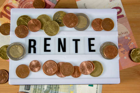 Rente - the german word for pension
