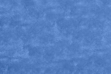 Photo pour Texture of blue velvet clothes or textile fabric - image libre de droit