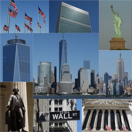 New York City And Manhattan Collage