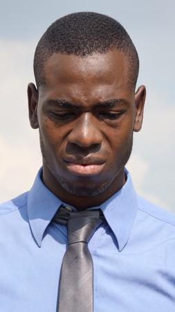 Business Man And Sadness