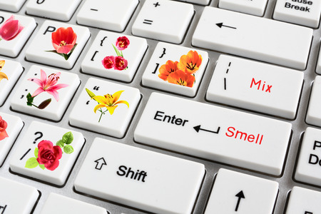 The future of high technologies. The computer synthesizing smells of flowers