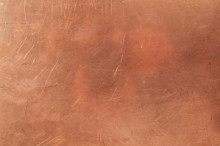 Brazen background from metal-clad glass textolite