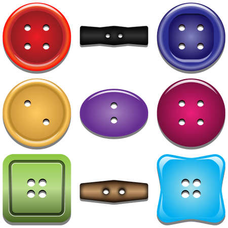Buttons for clothing