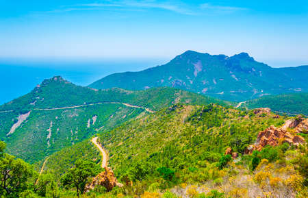 Esterel Massif in France