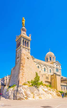 Basilique Notre-Dame de la Garde in Marseille, France