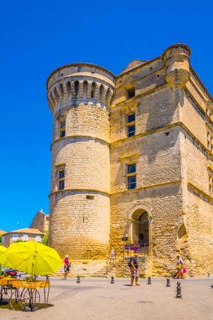 GORDES, FRANCE, JUNE 24, 2017: Gordes castle in France
