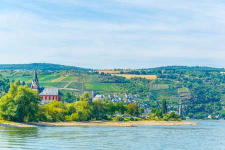 St. Goar Oberwesel town in Germany