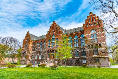 Photo pour University library in Lund, Sweden - image libre de droit