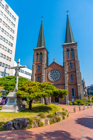 cathedral of our lady of Lourdes at Daegu, Republic of Korea