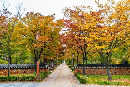 Photo pour Park at Wolmido island in Incheon, republic of Korea - image libre de droit