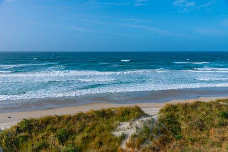 Photo pour Saint Kilda beach in Dunedin, New Zealand - image libre de droit