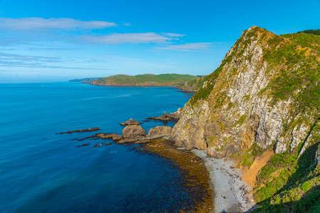 Photo pour Roaring bay at Catlins region of New Zealand - image libre de droit