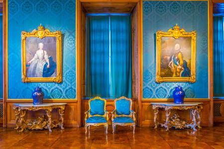 Foto für STOCKHOLM, SWEDEN, AUGUST 18, 2016: View of a hall of the Kungliga slottet castle in Gamla Stan, Stockholm, Sweden - Lizenzfreies Bild