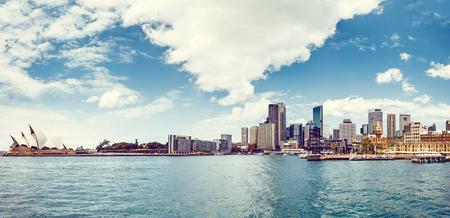 Photo for Sydney Harbour with Sydney opera house, Australia - Royalty Free Image