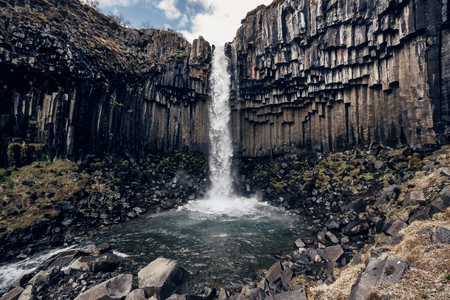Svartifoss, Black Waterfall