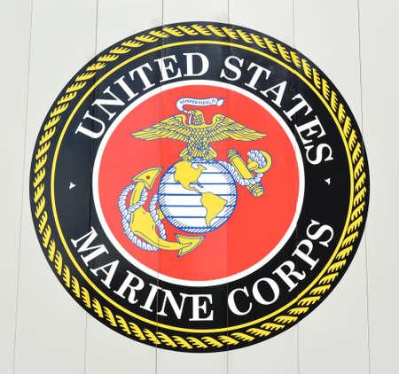 Photo for United States Marine Corps Emblem - Royalty Free Image