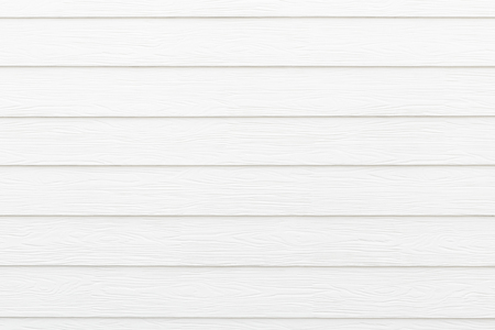 Closeup of a clean white wooden wall