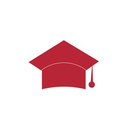 Photo pour flat or minimalist vector education logo or clipart or icon - image libre de droit