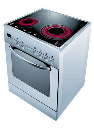Electric cooker oven.