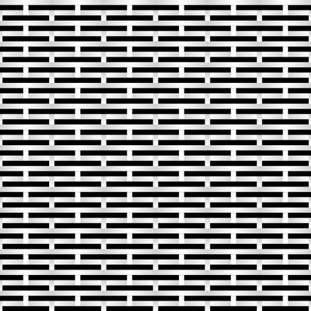 Black and white Grid. Abstract Illustration for design