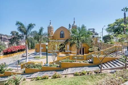 Colonial Church Iglesia la Ermita in Barranco, Lima, Peru