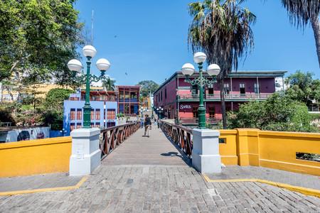 Lima,Peru- March 13, 2017: District of Barranco in Lima, Peru