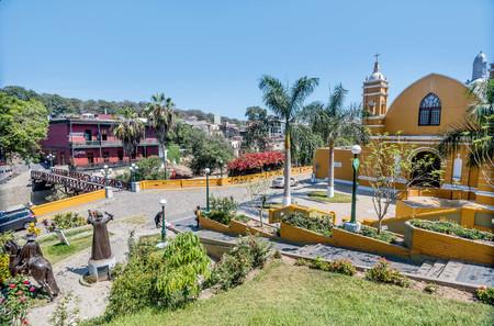 Lima, Peru- March 13, 2017: Colonial Church Iglesia la Ermita in Barranco, Lima, Peru
