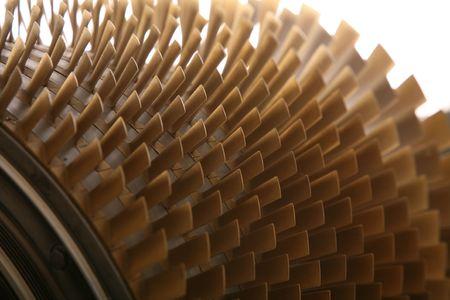 Photo pour turbine blades - image libre de droit