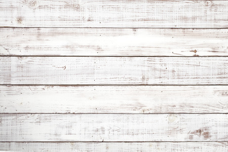 Wooden white board texture backgroundの写真素材