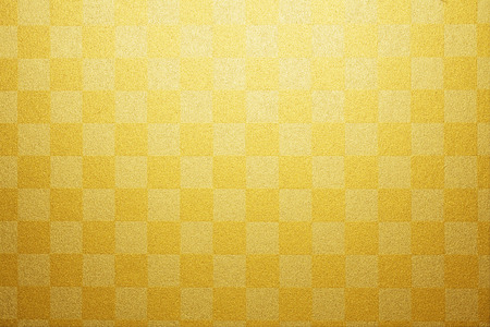 Gold plaid paper