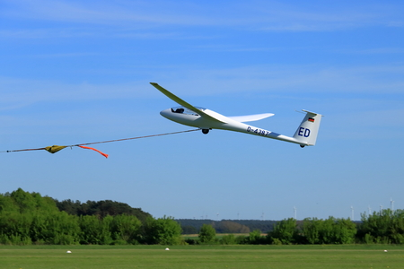 The glider is a plane that has no engine