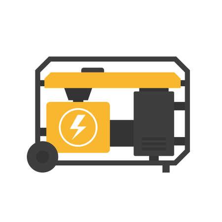 Illustration pour Portable power generator - image libre de droit
