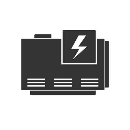 Illustration pour Elecrtic home generator - image libre de droit