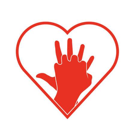 Illustration pour CPR icon. - image libre de droit