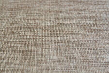 Photo pour light natural linen texture for the background. - image libre de droit