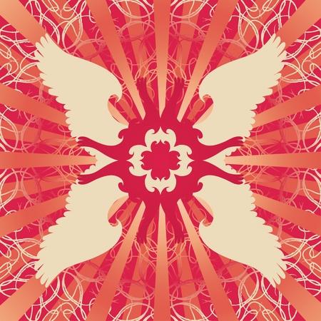 Symmetrical background