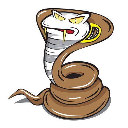 cobra snake mascot fast