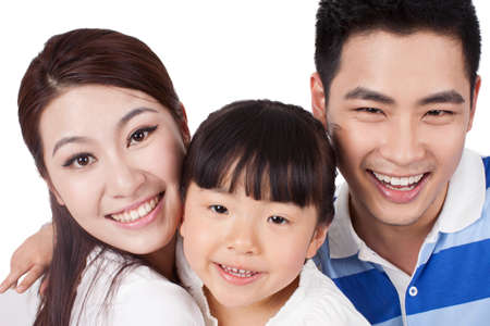 Photo for Portrait of a young family - Royalty Free Image