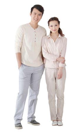 Photo pour The young couple - image libre de droit