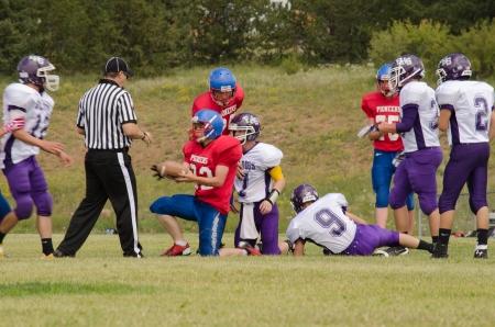 Cripple Creek, CO, 08/31/2013, Football game: Elbert High School versus Cripple Creek-Victor High School